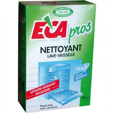 Image de NETTOYANT POUR LAVE-VAISSELLE ECA PROS PAQUET 250G
